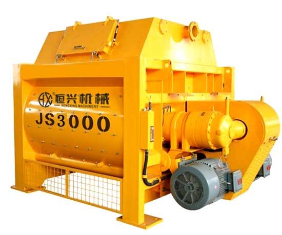 JS3000双卧轴强制式搅拌机