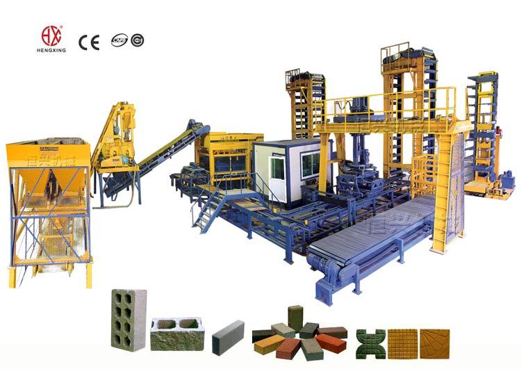 泉州全自动砖机厂家每小时1万块标砖以上每班产量10万块水泥砖机哪家好